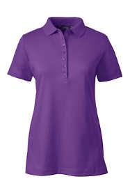 Women's Petite Pima Cotton Polo Shirt
