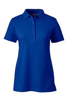 Women's Short Sleeve Pima Polo