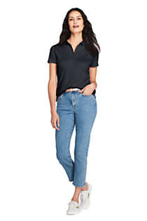 Women's Petite Pima Cotton Polo Shirt, Unknown
