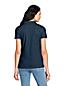 Pima-Poloshirt, Kurzarm für Damen