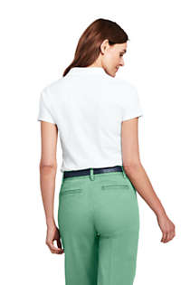Women's Tall Pima Cotton Polo Shirt, Back