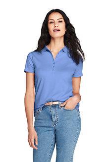 Women's Short Sleeve Pima Polo Shirt