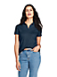 Women's Short Sleeve Pima Polo Shirt