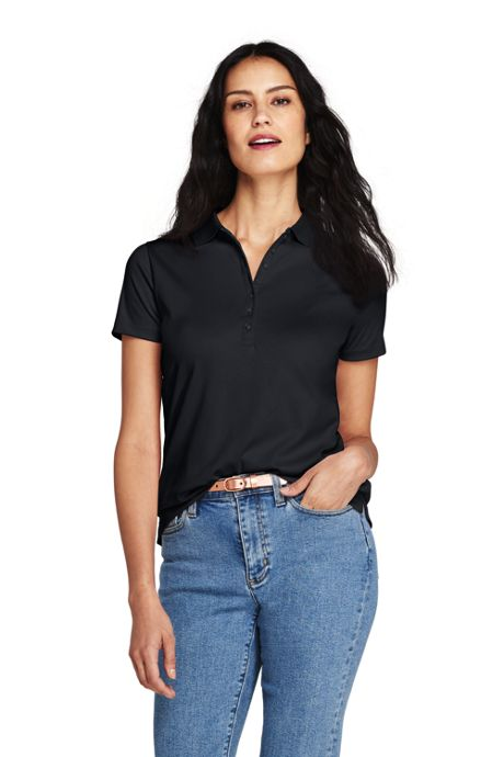 Women's Pima Cotton Polo Shirt