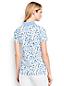 Women's Short Sleeve Print Pima Polo Shirt