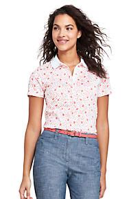 e8b9aa15e544a Women s Print Pima Cotton Polo Shirt
