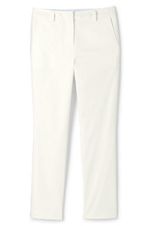 Women's Stretch Chino Crops