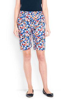 Women's Print Chino Bermuda Shorts