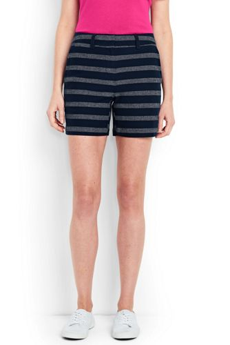 Le Short Texturé Stretch, Femme Stature Standard