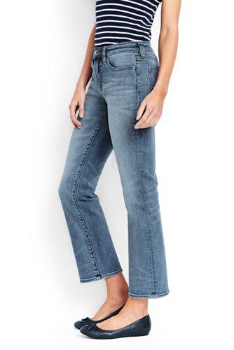 Xtra Life 7 8-Denim-Jeans in Indigo für Damen   Lands  End 121f5508a7