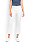 Women's XtraLife White Denim Kick Cropped Jeans