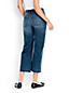 Women's Regular Wide Leg Crop Jeans