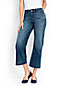 Le Pantacourt Large en Denim, Femme Stature Standard