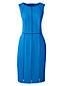 La Robe Fourreau Stretch Coutures Ajourées, Femme Stature Standard