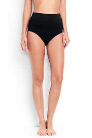 Women's Ruched High Waisted Bikini Bottoms