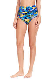 Women's Ruched High Waist Bikini Bottoms