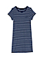 Women's Regular Stripe Towelling Cover Up Dress