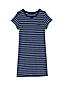 La Robe T-Shirt de Plage Rayée, Femme Stature Standard