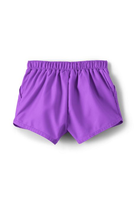 Girls Plus Woven Swim Shorts