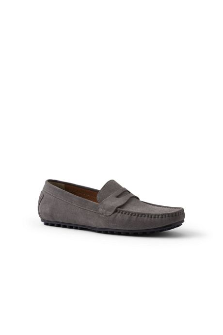 Mens Wide Penny Driving Moc