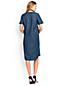Women's Regular Lyocell Chambray Tunic Dress