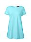 Langes Ausgestelltes Baumwoll/Modal-Shirt