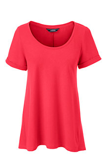 Women's Cotton Modal Scoop Neck top