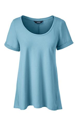 016661659c33d8 Women's Cotton Modal Scoop Neck top | Lands' End