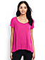 Women's Regular Cotton Modal Scoop Neck Top