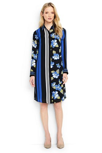 Women's Regular Engineered Shirtdress