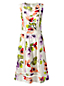 La Robe à Motifs et Coutures Ajourées, Femme Stature Standard