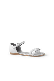 Girls' Ankle-strap Flower Sandals