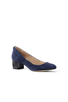 Women's Block Heel Suede Shoes
