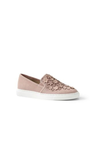 Women's Regular Embellished Slip-on Trainers