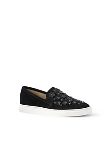Women's  Embellished Slip-on Trainers