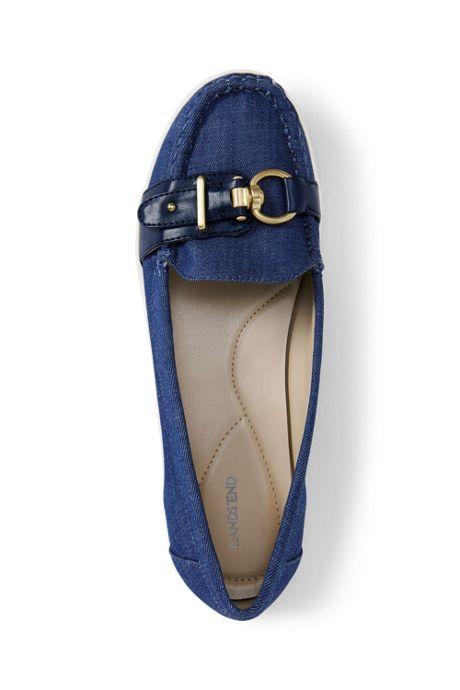 Womens Buckle Boat Shoes