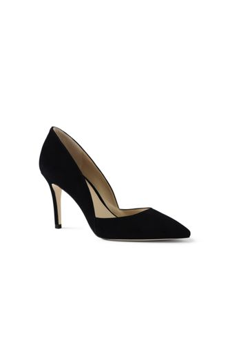 Women's Regular Suede D'Orsay Court Shoes