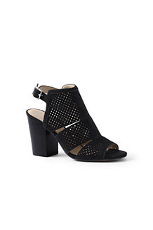 Women's  Peep-toe Block Heel Sandals