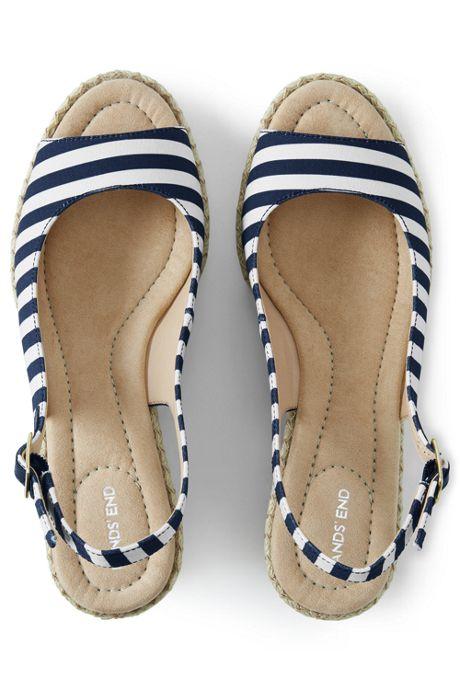 Women's Slingback Wedge Sandals
