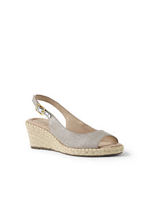 Women's Espadrille Wedge Sandals