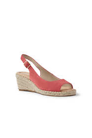 Women's Slingback Wedge Sandals