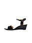 Women's Patent Wedge Sandals