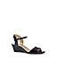Les Sandales Vernies Compensées, Femme Pieds Standards