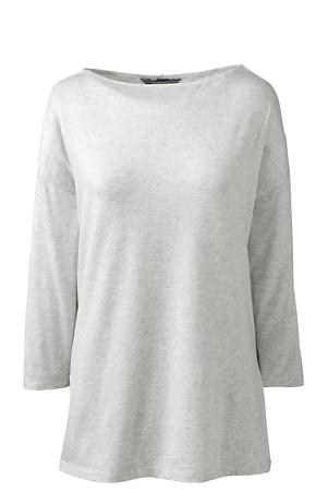 aaf3be68a7e Women's Cotton Modal Drop Shoulder Tunic | Lands' End