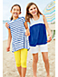 Toddler Girls' Stripe Trapeze Legging Top