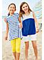 Toddler Girls' Stripe Trapeze Legging Top