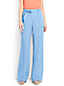 Women's Linen Tie-waist Wide Leg Trousers
