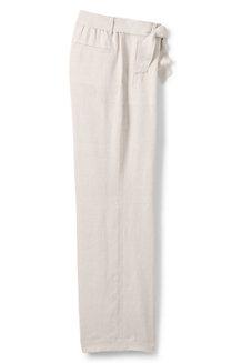 Le Pantalon Large en Lin, Femme