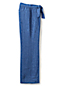 Women's Regular Stripe Linen Tie-waist Wide Leg Trousers