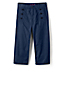 Little Girls' Cropped Sailor Trousers